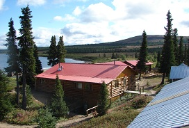 Geroge river lodge rear view