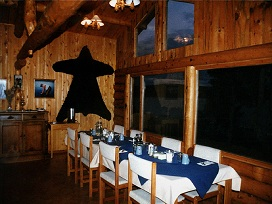 Geroge river lodge dining room 2